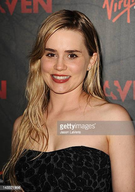 Actress Alison Lohman attends the premiere of 'The Raven' at Los Angeles Theatre on April 23 2012 in Los Angeles California