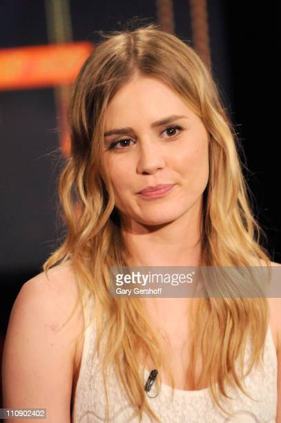 Actress Alison Lohman visits fuse's 'No 1 Countdown' at fuse Studios on May 28 2009 in New York City