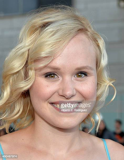 Actress Alison Pill attends the opening night premiere of 'Snowpiercer' during the 2014 Los Angeles Film Festival at Regal Cinemas LA Live on June 11...