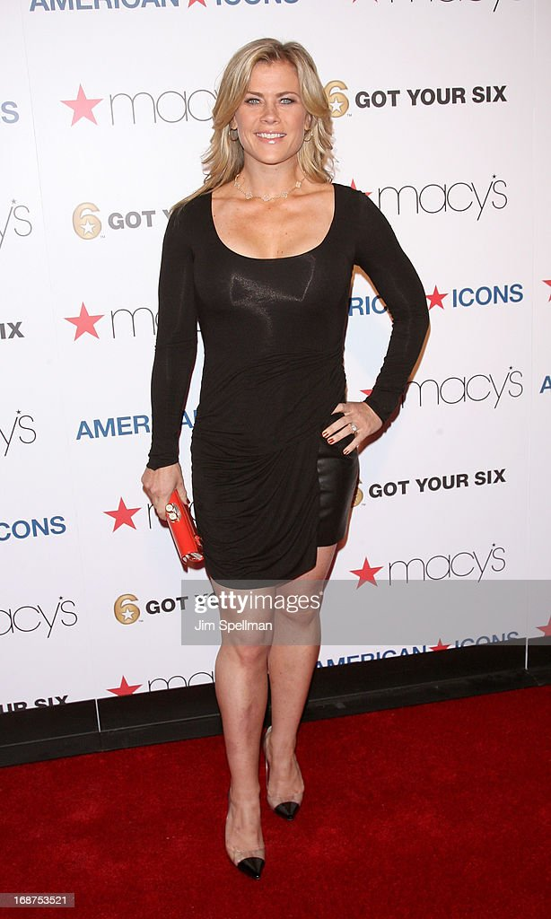 Actress Alison Sweeney attends Macy's 'American Icons' Campaign Launch at Gotham Hall on May 14, 2013 in New York City.