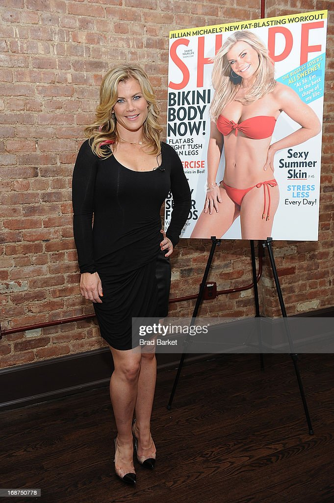 Actress Alison Sweeney attends the Ali Sweeney's SHAPE Cover Party on May 14, 2013 in New York City.