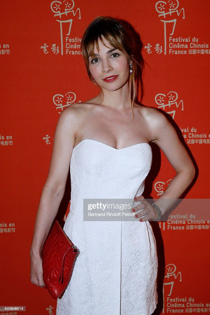 Actress Alix Benezech arrives at the 6th Chinese Film Festival