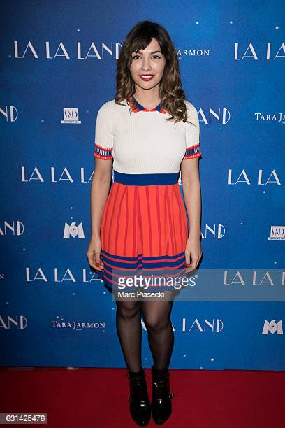 Actress Alix Benezech attends 'LA LA LAND' Premiere at Cinema UGC Normandie on January 10 2017 in Paris France