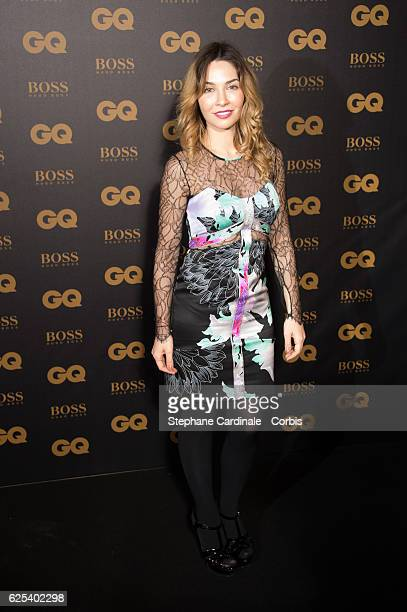 Actress Alix Benezech attends the GQ Men of the Year Awards 2016 Photocall at Musee d'Orsay on November 23 2016 in Paris France
