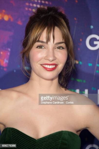 Actress Alix Benezech attends the Paris Premiere of the Paramount Pictures release 'Ghost In The Shell' at Le Grand Rex on March 21 2017 in Paris...