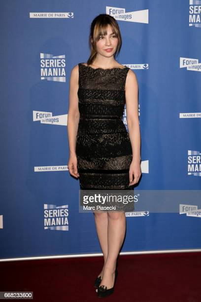 Actress Alix Benezech attends the 'Series Mania Festival' opening night at Le Grand Rex on April 13 2017 in Paris France