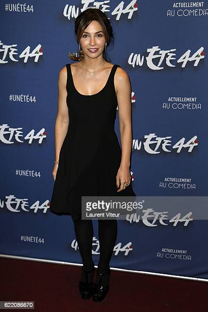 Actress Alix Benezech attends 'Un Ete 44' Theater Play at Le Comedia on November 9 2016 in Paris France