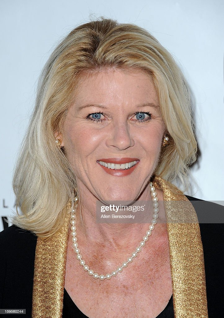 Actress Alley Mills arrives at the Los Angeles opening night performance of 'Peter Pan' at the Pantages Theatre on January 15, 2013 in Hollywood, California.