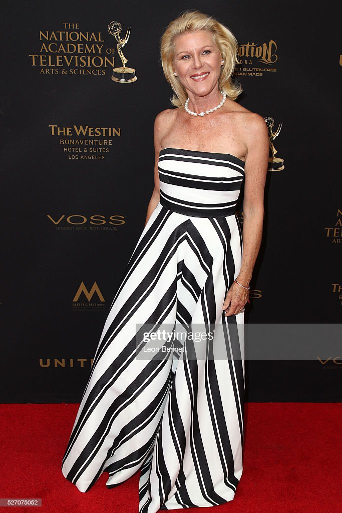 Actress Alley Mills attends the 2016 Daytime Emmy Awards - Arrivals at Westin Bonaventure Hotel on May 1, 2016 in Los Angeles, California.