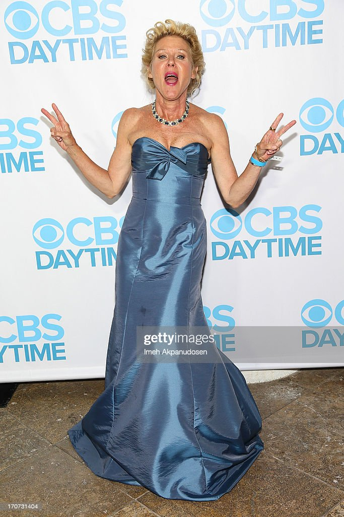 Actress <a gi-track='captionPersonalityLinkClicked' href=/galleries/search?phrase=Alley+Mills&family=editorial&specificpeople=665148 ng-click='$event.stopPropagation()'>Alley Mills</a> attends The 40th Annual Daytime Emmy Awards After Party at The Beverly Hilton Hotel on June 16, 2013 in Beverly Hills, California.