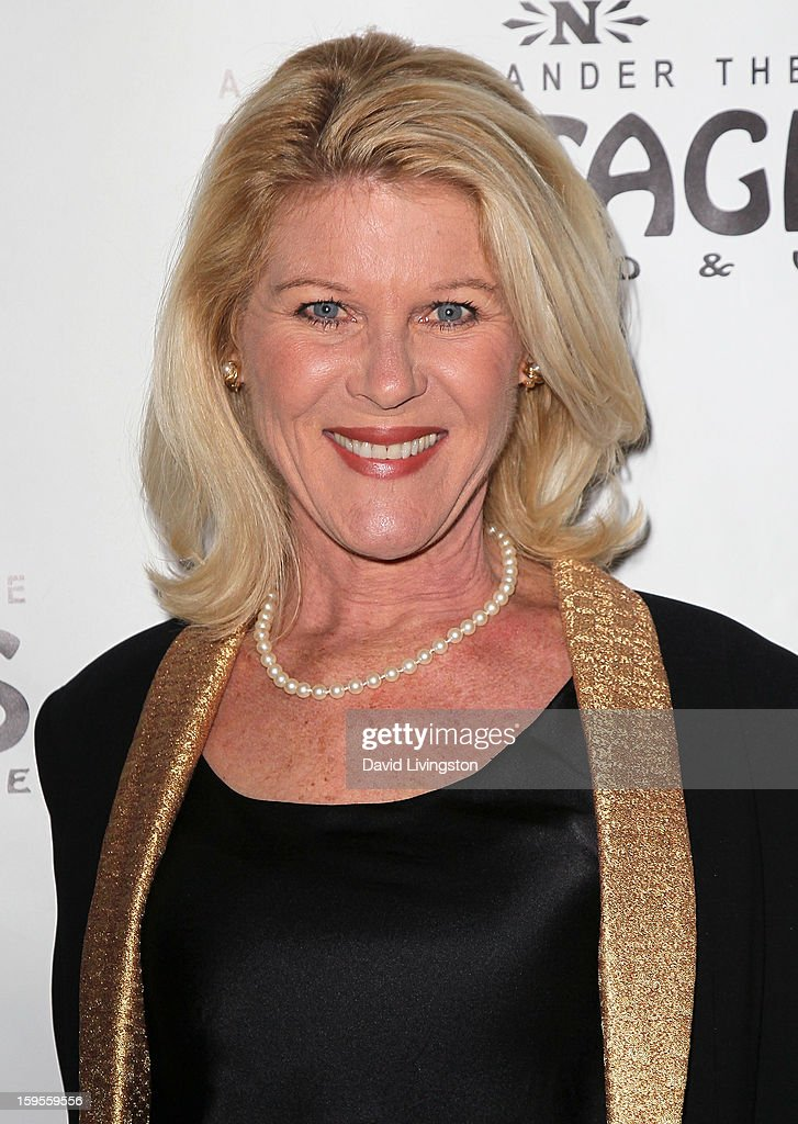 Actress Alley Mills attends the opening night of 'Peter Pan' at the Pantages Theatre on January 15, 2013 in Hollywood, California.