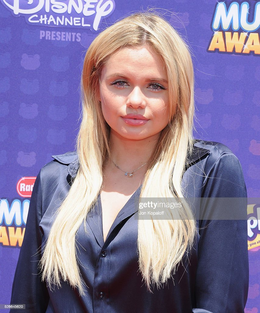 Actress Alli Simpson arrives at the 2016 Radio Disney Music Awards at Microsoft Theater on April 30, 2016 in Los Angeles, California.