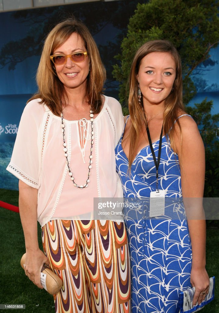 Actress <a gi-track='captionPersonalityLinkClicked' href=/galleries/search?phrase=Allison+Janney&family=editorial&specificpeople=206290 ng-click='$event.stopPropagation()'>Allison Janney</a> (L) and geust arrives at Film Independent's 2012 Los Angeles Film Festival Premiere of Disney Pixar's 'Brave' at Dolby Theatre on June 18, 2012 in Hollywood, California.