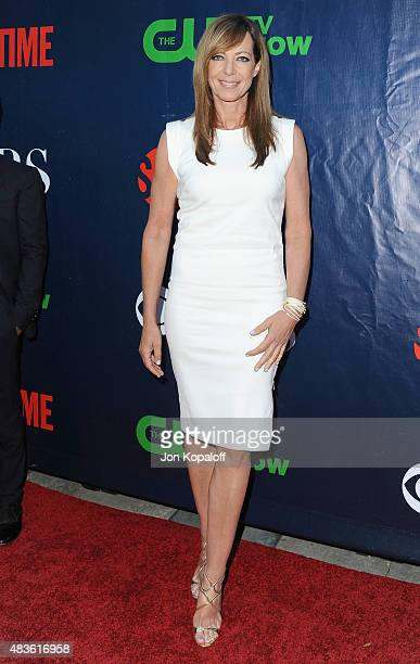 Actress Allison Janney arrives at CBS CW And Showtime 2015 Summer TCA Party at Pacific Design Center on August 10 2015 in West Hollywood California