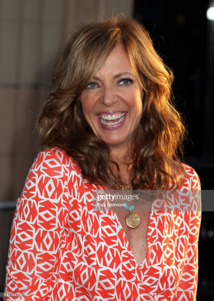 Actress Allison Janney arrives at 'Finding Nemo' Disney Digital 3D - Los Angeles Premiere at the El Capitan Theatre on September 10, 2012 in Hollywood, California.