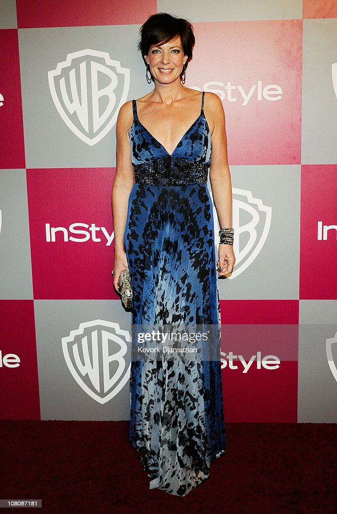 Actress Allison Janney arrives at the 2011 InStyle And Warner Bros. 68th Annual Golden Globe Awards post-party held at The Beverly Hilton hotel on January 16, 2011 in Beverly Hills, California.
