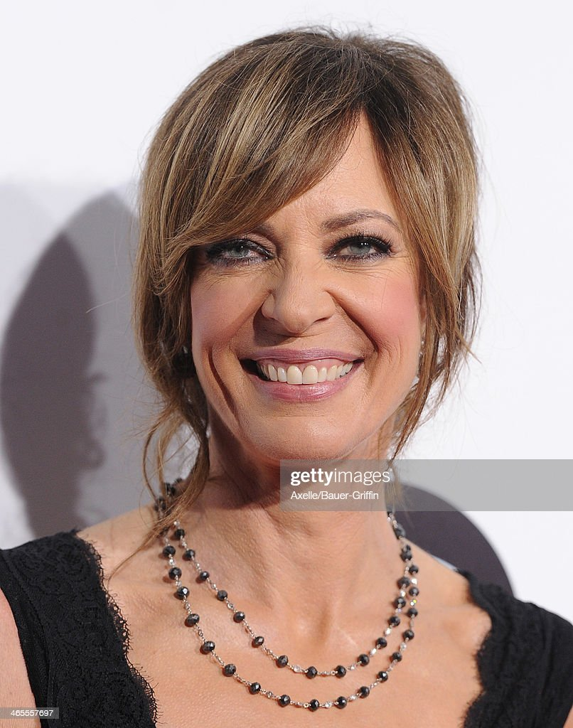 Actress Allison Janney arrives at The 40th Annual People's Choice Awards at Nokia Theatre L.A. Live on January 8, 2014 in Los Angeles, California.