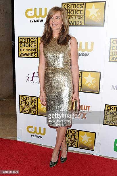 Actress Allison Janney arrives at the 4th Annual Critics' Choice Television Awards at The Beverly Hilton Hotel on June 19 2014 in Beverly Hills...