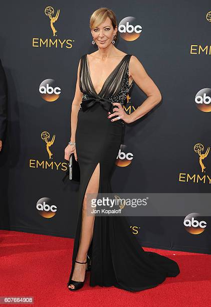 Actress Allison Janney arrives at the 68th Annual Primetime Emmy Awards at Microsoft Theater on September 18 2016 in Los Angeles California