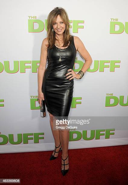 Actress Allison Janney arrives at the Los Angeles screening of 'The Duff' at TCL Chinese 6 Theatres on February 12 2015 in Hollywood California