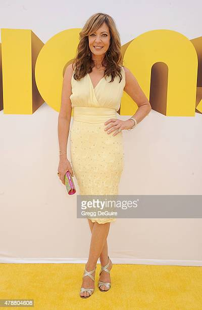 Actress Allison Janney arrives at the premiere of Universal Pictures and Illumination Entertainment's 'Minions' at The Shrine Auditorium on June 27...