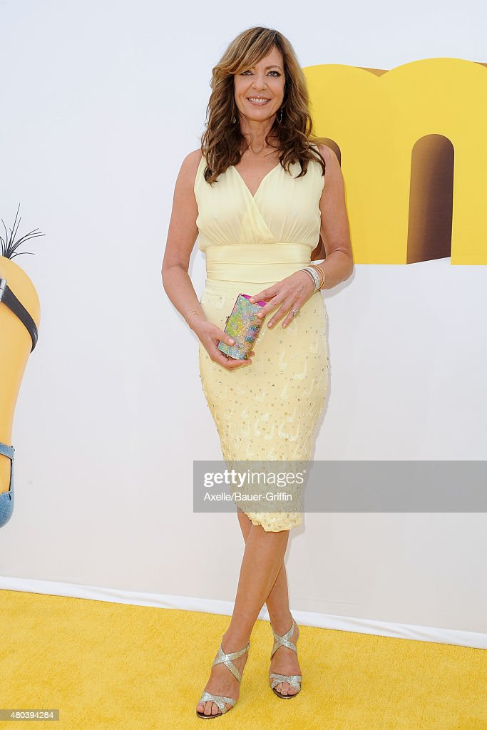 Actress Allison Janney arrives at the premiere of Universal Pictures and Illumination Entertainment's 'Minions' at The Shrine Auditorium on June 27, 2015 in Los Angeles, California.