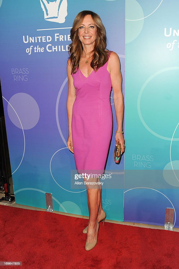 Actress Allison Janney arrives at the United Friends of the Children Brass Ring Awards Dinner 2013 at The Beverly Hilton Hotel on May 29, 2013 in Beverly Hills, California.