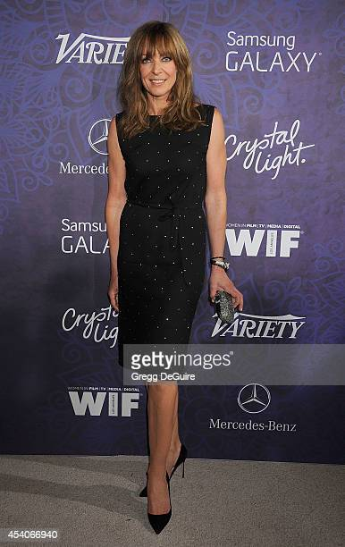 Actress Allison Janney arrives at the Variety And Women In Film Annual PreEmmy Celebration at Gracias Madre on August 23 2014 in West Hollywood...
