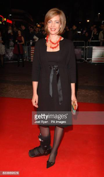 Actress Allison Janney arrives for the 51st BFI London Film Festival screening of the film Juno at the Odeon West End Cinema in Leicester Square...
