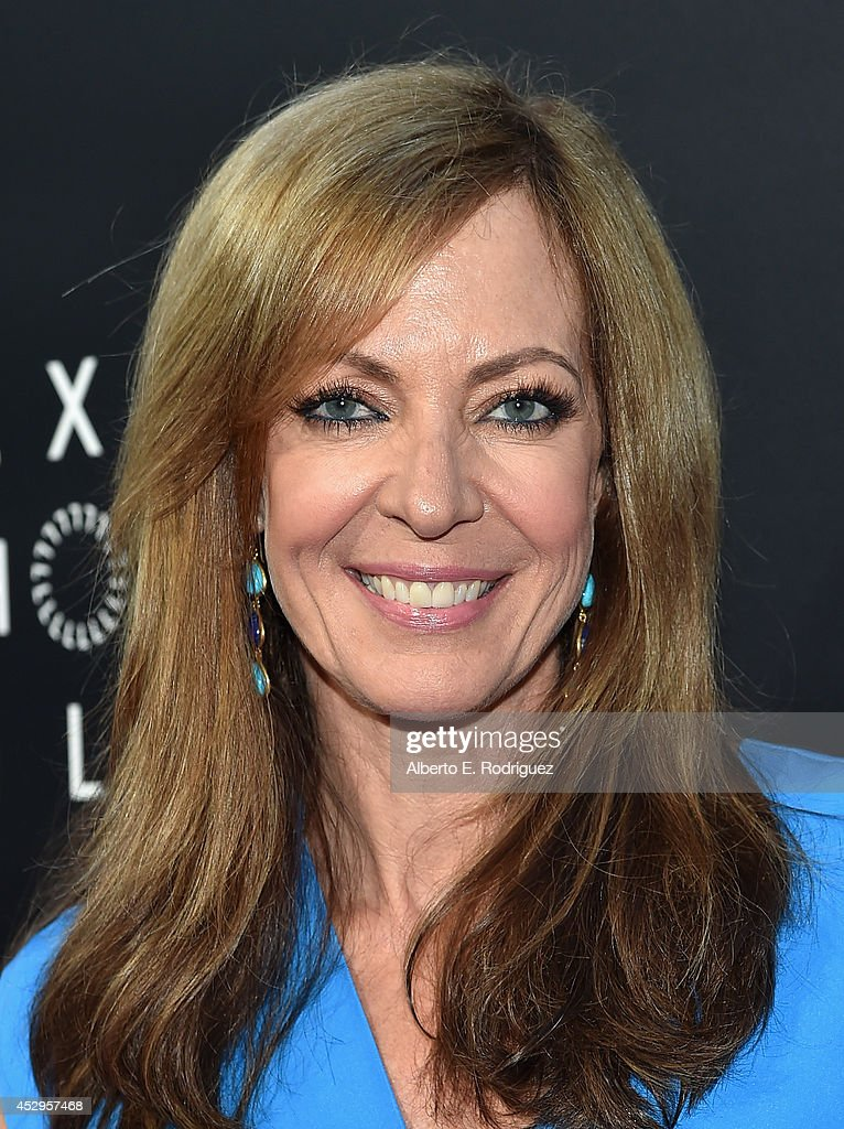 Actress <a gi-track='captionPersonalityLinkClicked' href=/galleries/search?phrase=Allison+Janney&family=editorial&specificpeople=206290 ng-click='$event.stopPropagation()'>Allison Janney</a> arrives to The Weinstein Company and Lexus Present Lexus Short Films at The Regal Cinemas L.A. Live on July 30, 2014 in Los Angeles, California.