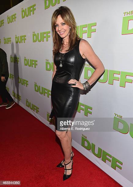 Actress Allison Janney attends a Fan Screening of CBS Films' 'The Duff' at the TCL Chinese 6 Theatres on February 12 2015 in Hollywood California