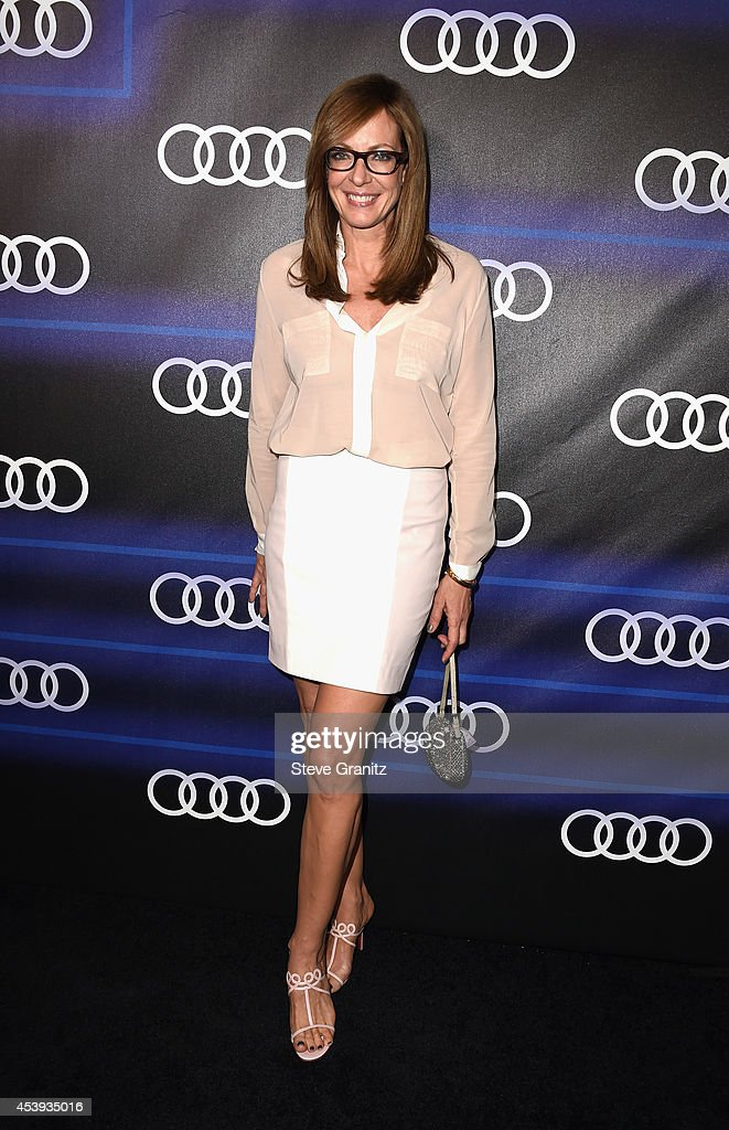 Actress <a gi-track='captionPersonalityLinkClicked' href=/galleries/search?phrase=Allison+Janney&family=editorial&specificpeople=206290 ng-click='$event.stopPropagation()'>Allison Janney</a> attends Audi Emmy Week Celebration at Cecconi's Restaurant on August 21, 2014 in Los Angeles, California.