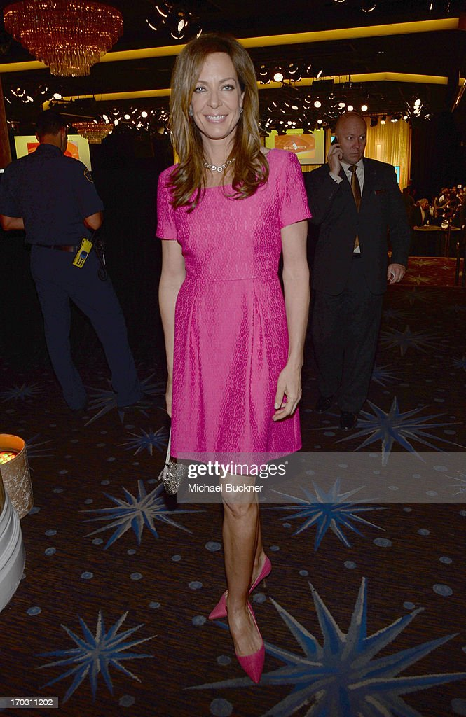 Actress <a gi-track='captionPersonalityLinkClicked' href=/galleries/search?phrase=Allison+Janney&family=editorial&specificpeople=206290 ng-click='$event.stopPropagation()'>Allison Janney</a> attends Broadcast Television Journalists Association's third annual Critics' Choice Television Awards at The Beverly Hilton Hotel on June 10, 2013 in Los Angeles, California.