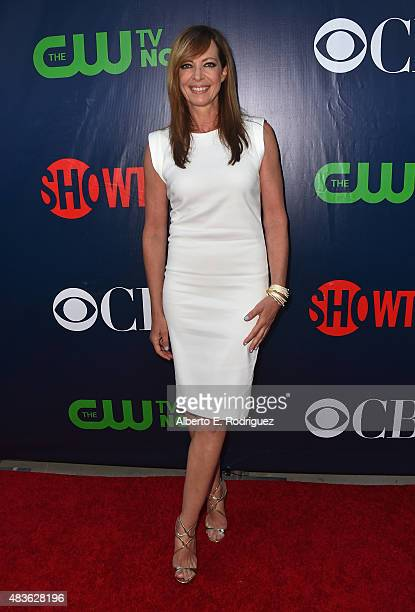 Actress Allison Janney attends CBS' 2015 Summer TCA party at the Pacific Design Center on August 10 2015 in West Hollywood California