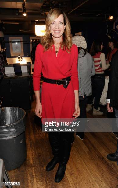 Actress Allison Janney attends Day 2 of Village At The Lift 2013 on January 19 2013 in Park City Utah