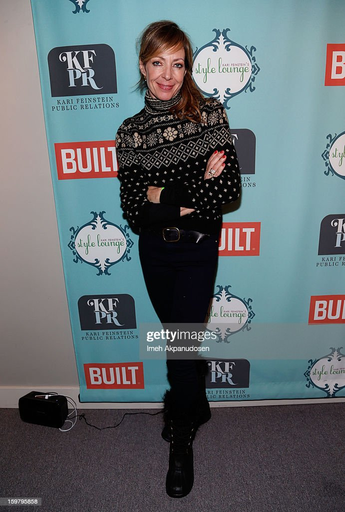 Actress Allison Janney attends Day 3 of the Kari Feinstein Style Lounge on January 20, 2013 in Park City, Utah.