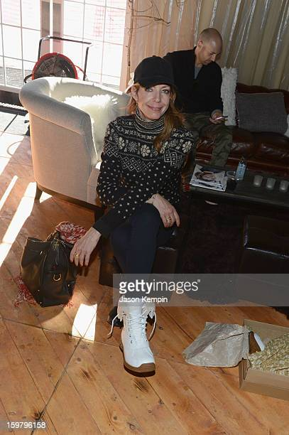 Actress Allison Janney attends Day 3 of UGG at Village At The Lift 2013 on January 20 2013 in Park City Utah