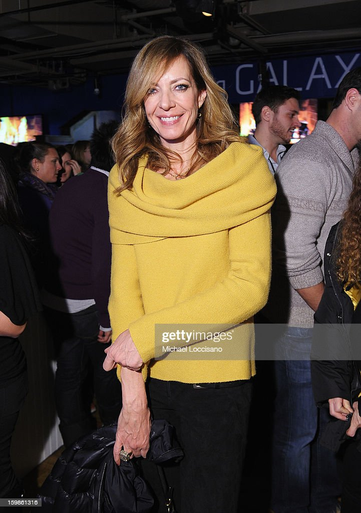 Actress Allison Janney attends Night 4 of Samsung Galaxy Lounge at Village At The Lift 2013 on January 21, 2013 in Park City, Utah.