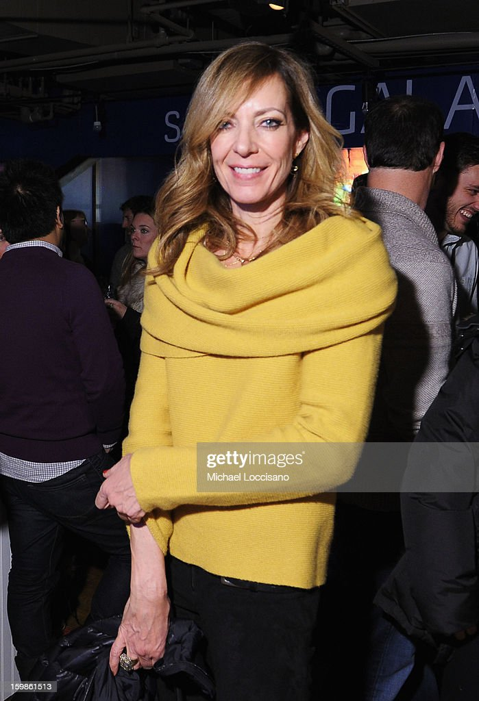 Actress <a gi-track='captionPersonalityLinkClicked' href=/galleries/search?phrase=Allison+Janney&family=editorial&specificpeople=206290 ng-click='$event.stopPropagation()'>Allison Janney</a> attends Night 4 of Samsung Galaxy Lounge at Village At The Lift 2013 on January 21, 2013 in Park City, Utah.