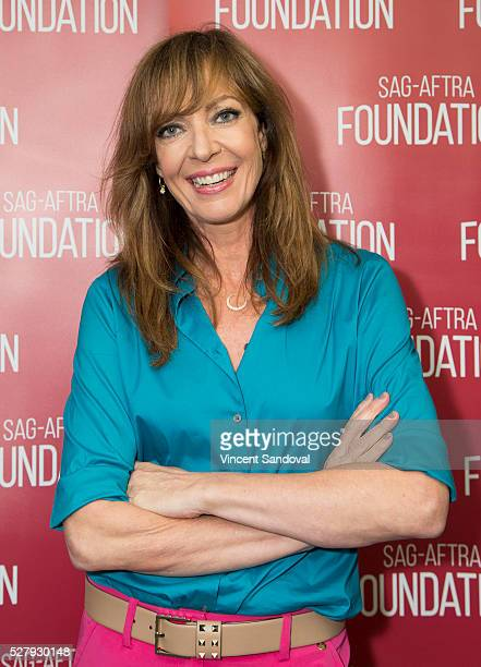 Actress Allison Janney attends SAGAFTRA Foundation Conversations with Anna Faris and Allison Janney for ''Mom' at SAG Foundation Actors Center on May...