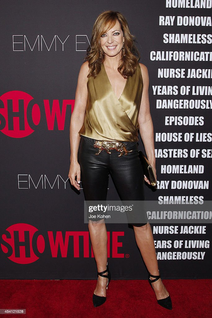 Actress Allison Janney attends Showtime 2014 Emmy Eve at Sunset Tower on August 24 2014 in West Hollywood California