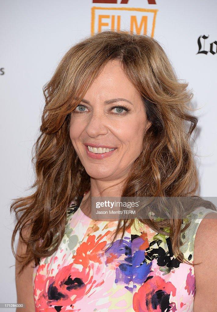 Actress <a gi-track='captionPersonalityLinkClicked' href=/galleries/search?phrase=Allison+Janney&family=editorial&specificpeople=206290 ng-click='$event.stopPropagation()'>Allison Janney</a> attends the 2013 Los Angeles Film Festival premiere of the Fox Searchlight Pictures' 'The Way, Way Back' held on June 23, 2013 in Los Angeles, California.