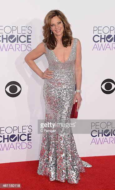 Actress Allison Janney attends the 2015 People's Choice Awards at Nokia Theatre LA Live on January 7 2015 in Los Angeles California