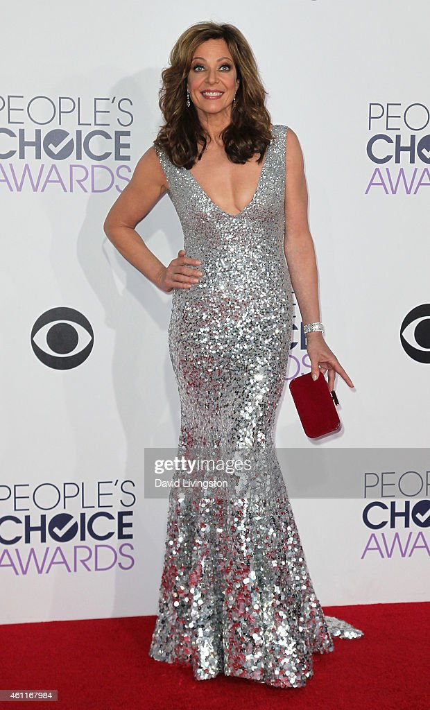 Actress Allison Janney attends the 2015 People's Choice Awards at the Nokia Theatre L.A. Live on January 7, 2015 in Los Angeles, California.