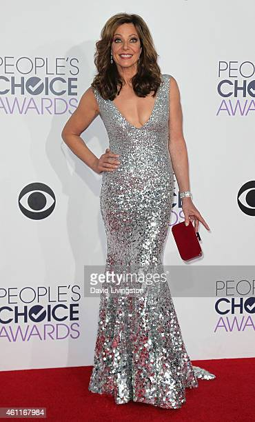 Actress Allison Janney attends the 2015 People's Choice Awards at the Nokia Theatre LA Live on January 7 2015 in Los Angeles California