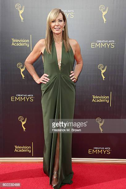 Actress Allison Janney attends the 2016 Creative Arts Emmy Awards at Microsoft Theater on September 10 2016 in Los Angeles California