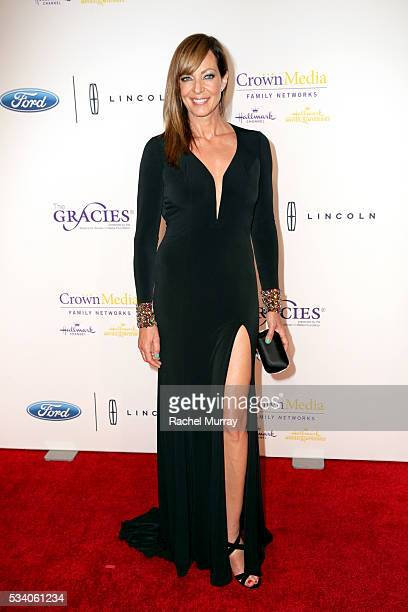 Actress Allison Janney attends the 41st Annual Gracie Awards at Regent Beverly Wilshire Hotel on May 24 2016 in Beverly Hills California