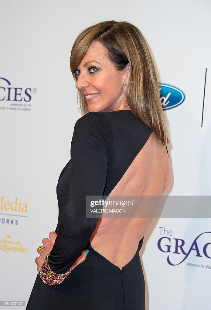 Actress Allison Janney attends the 41st Annual Gracies Awards Gala, in Beverly Hills, California, on May 24, 2016. / AFP / VALERIE