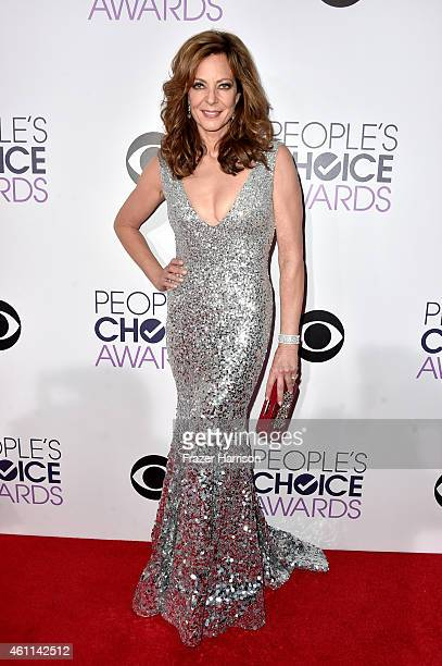 Actress Allison Janney attends The 41st Annual People's Choice Awards at Nokia Theatre LA Live on January 7 2015 in Los Angeles California