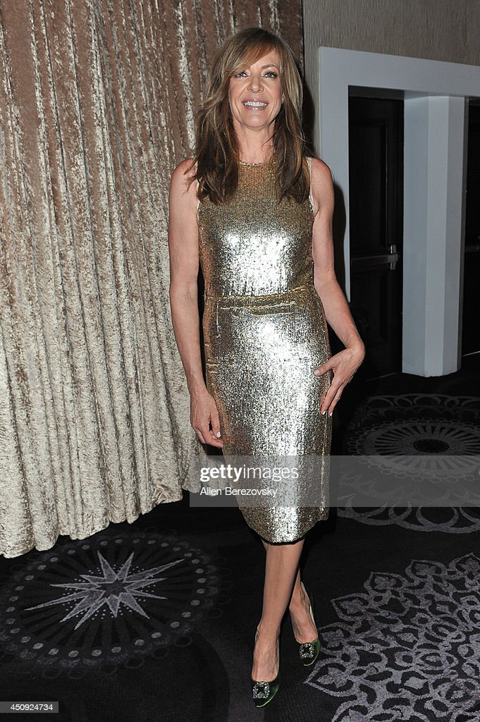 Actress Allison Janney attends the 4th Annual Critics' Choice Television Awards at The Beverly Hilton Hotel on June 19 2014 in Beverly Hills...
